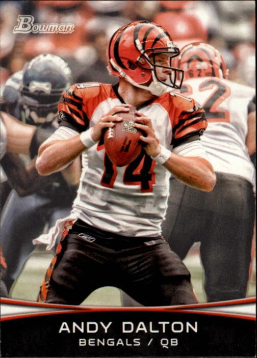 2012 Bowman #11 Andy Dalton