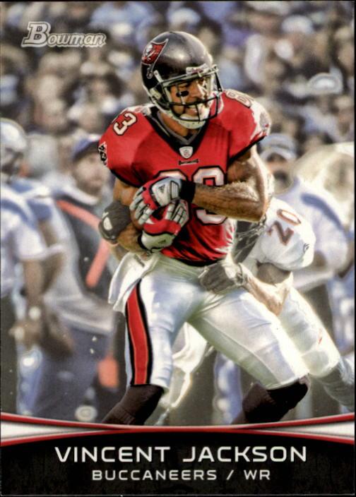 2012 Bowman #19 Vincent Jackson