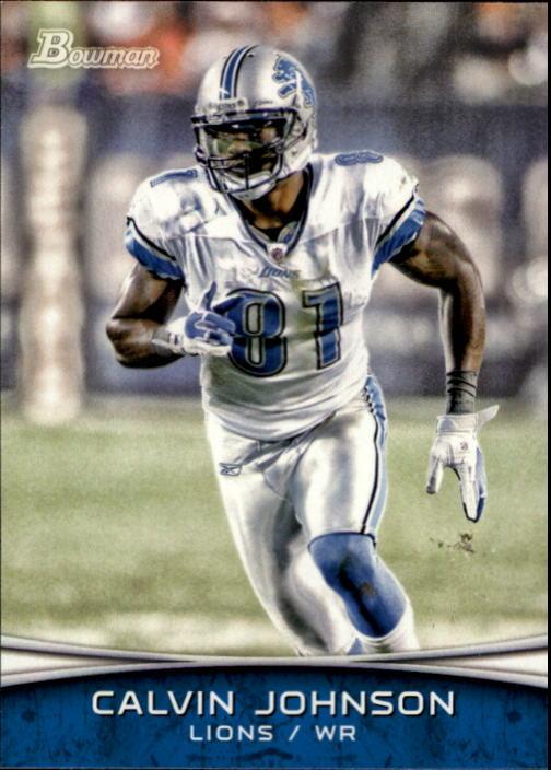 2012 Bowman #20 Calvin Johnson