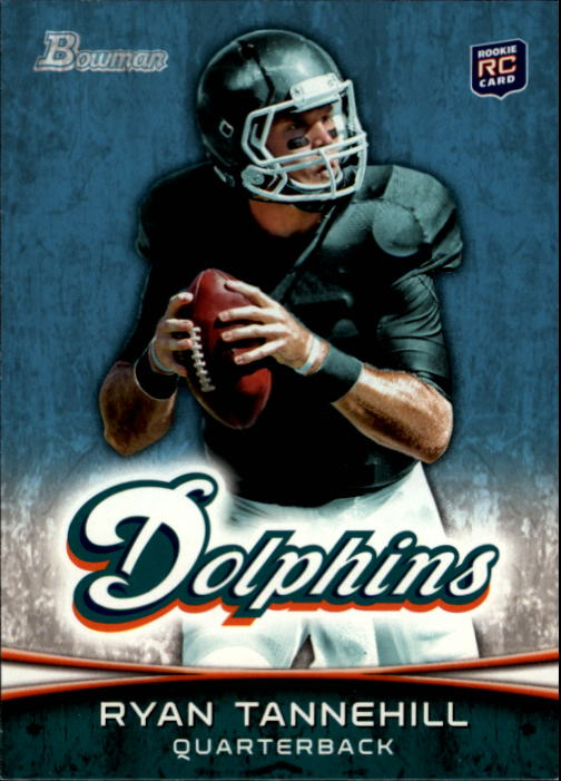 2012 Bowman #110A Ryan Tannehill RC/dropping back