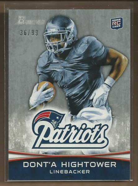 2012 Bowman Silver #102 Dont'a Hightower