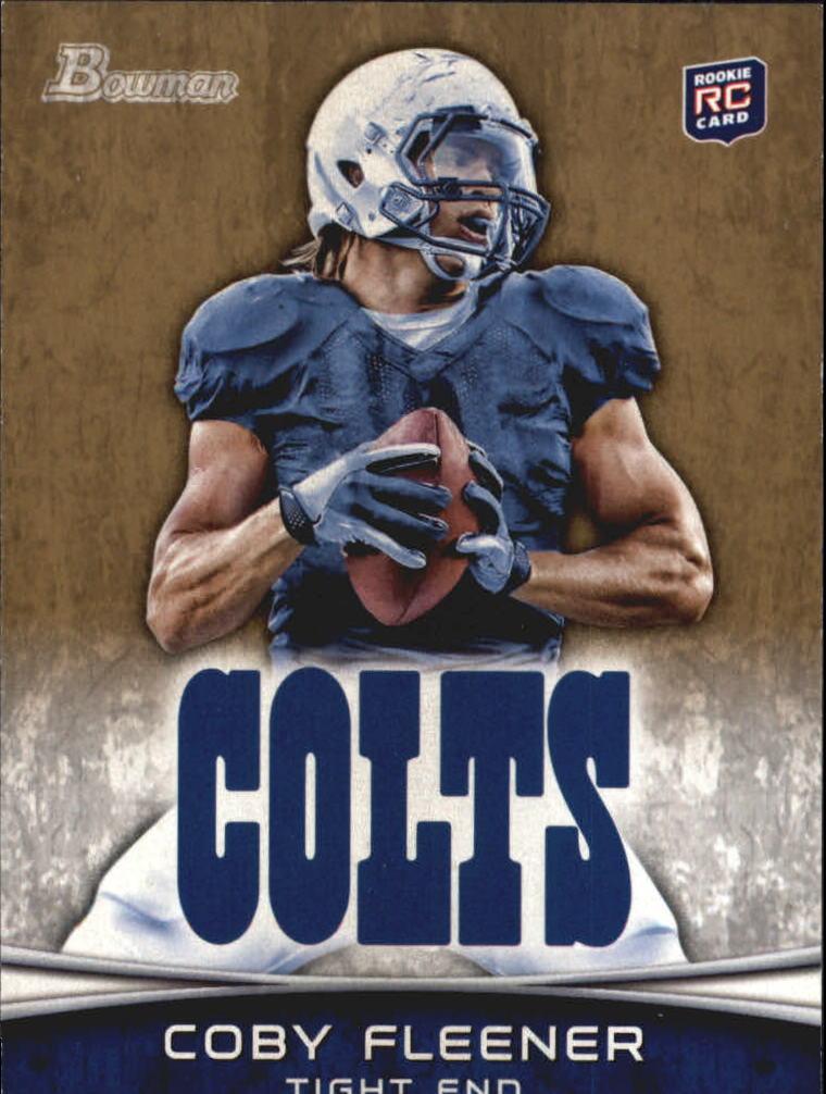2012 Bowman Gold #113 Coby Fleener