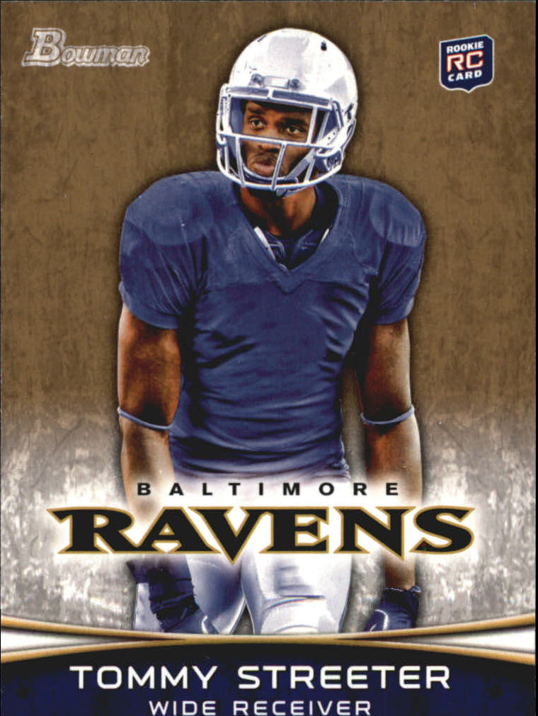 2012 Bowman Gold #114 Tommy Streeter