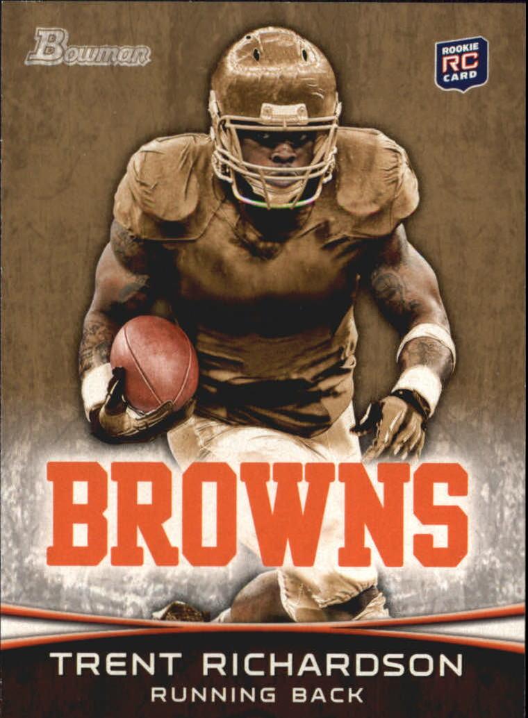 2012 Bowman Gold #120 Trent Richardson