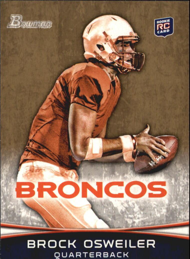 2012 Bowman Gold #121 Brock Osweiler