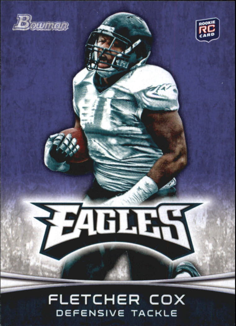 2012 Bowman Purple #101 Fletcher Cox