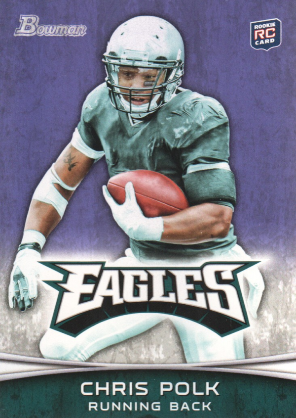 2012 Bowman Purple #103 Chris Polk