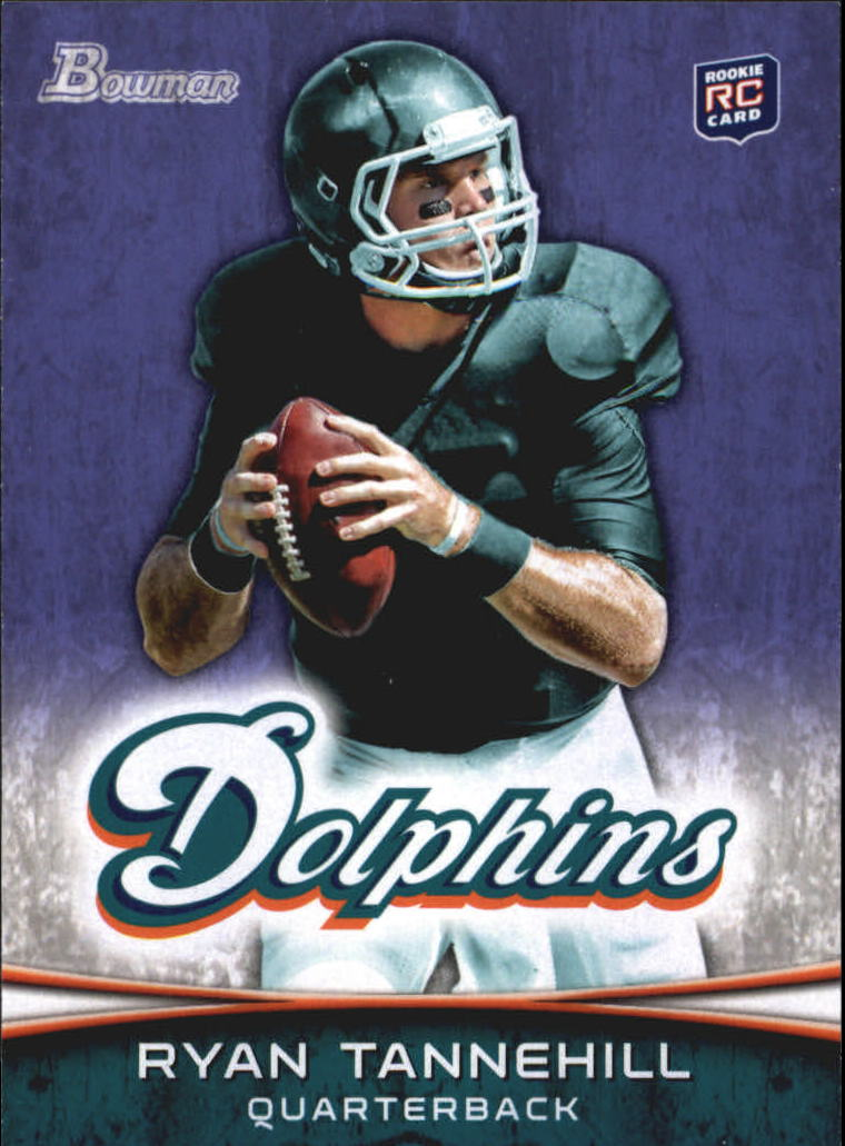 2012 Bowman Purple #110 Ryan Tannehill