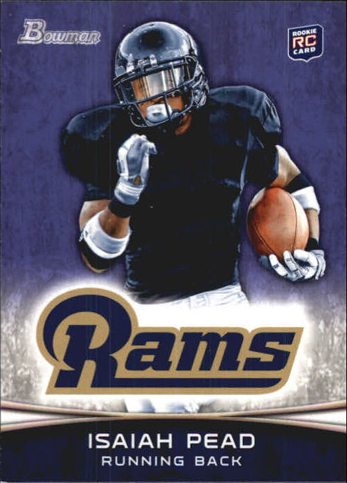 2012 Bowman Purple #111 Isaiah Pead