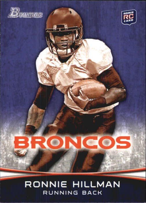 2012 Bowman Purple #112 Ronnie Hillman
