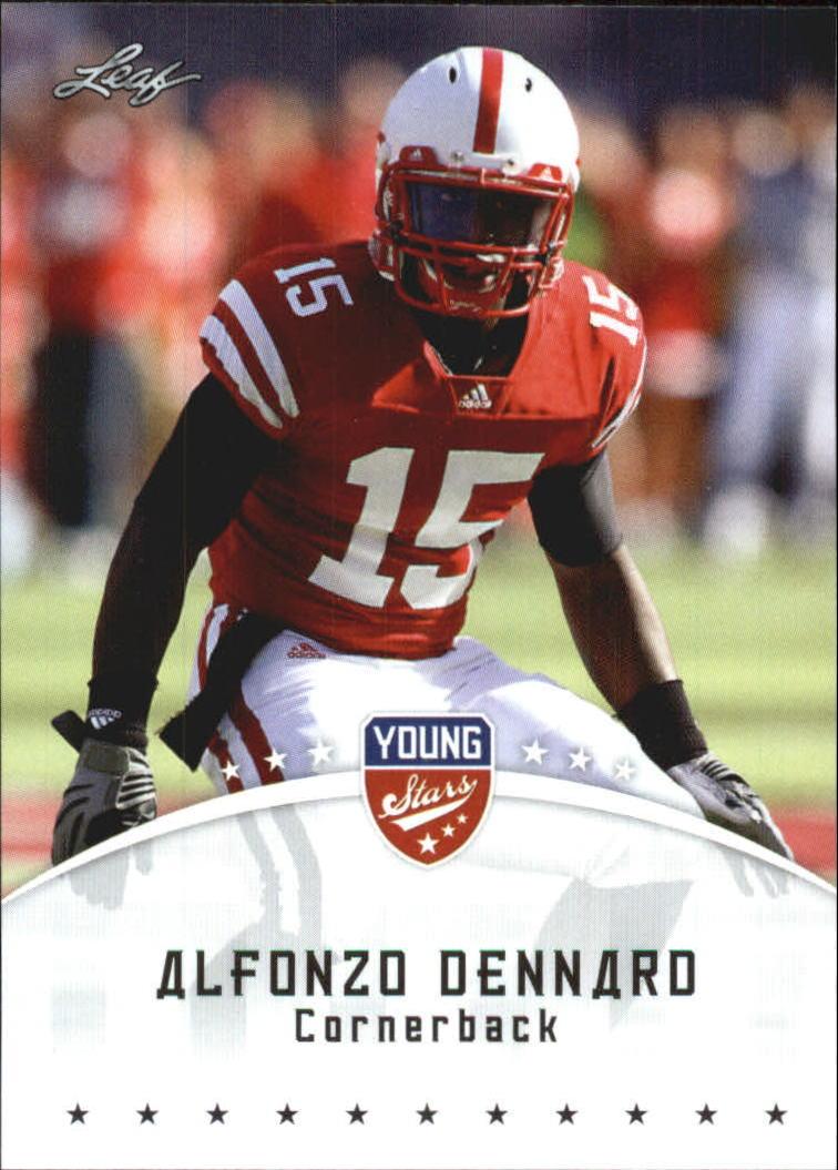 2012 Leaf Young Stars Draft #3 Alfonzo Dennard