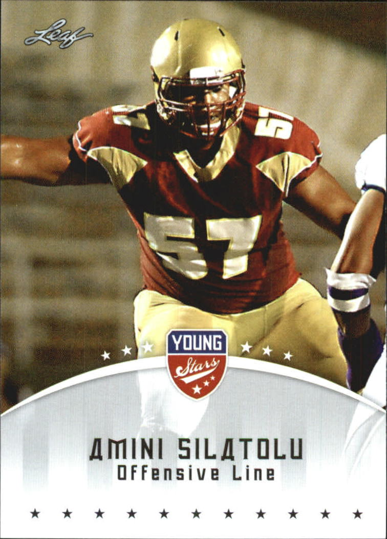 2012 Leaf Young Stars Draft #5 Amini Silatolu