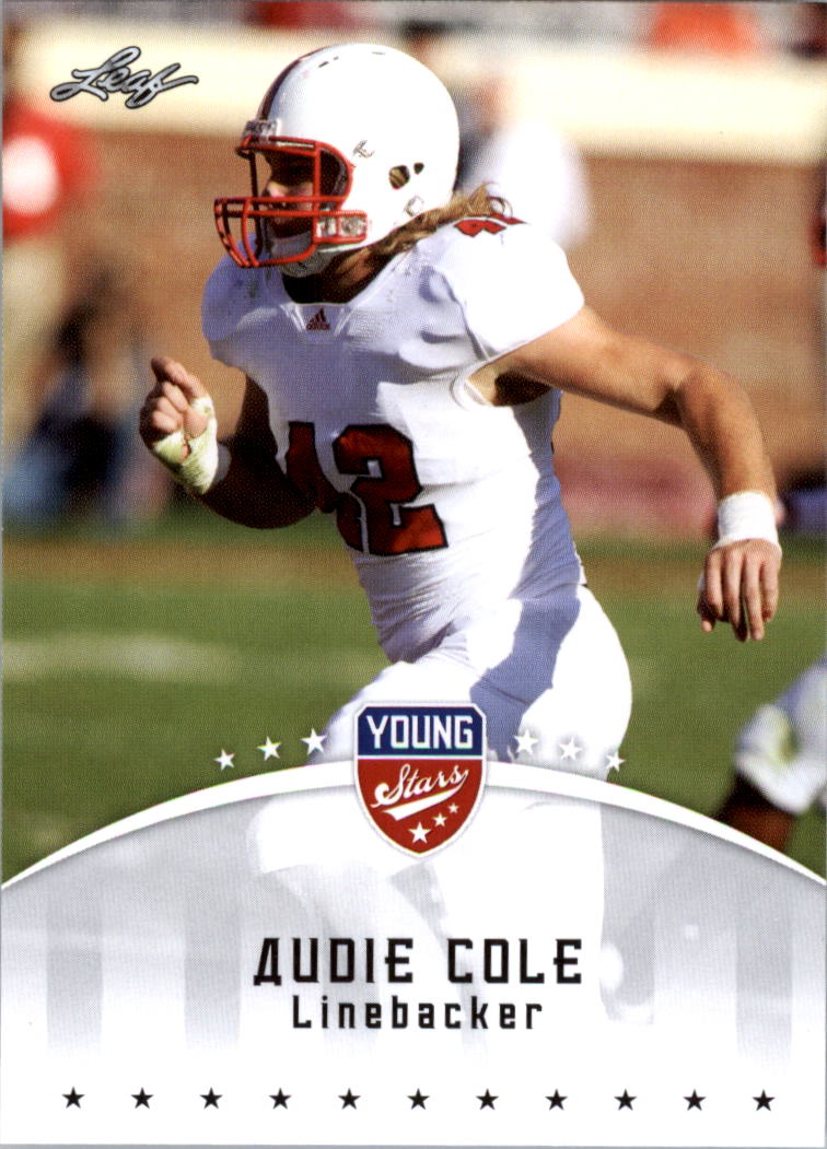 2012 Leaf Young Stars Draft #7 Audie Cole