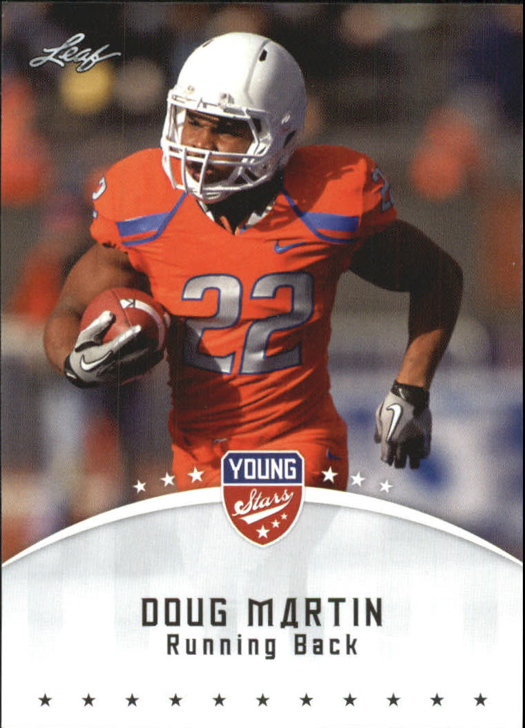 2012 Leaf Young Stars Draft #34 Doug Martin