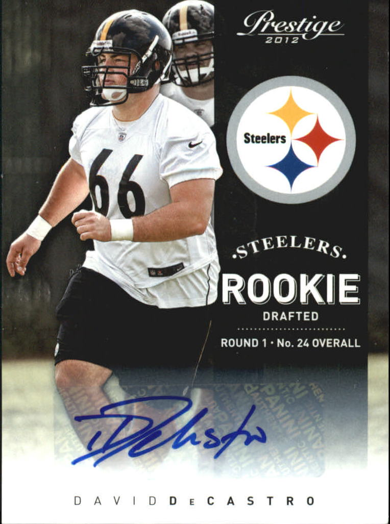 2012 Prestige Rookie Autographs #217 David DeCastro/899