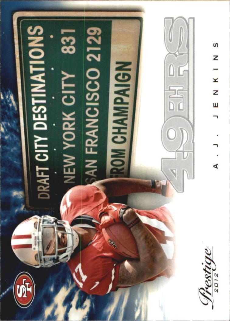 2012 Prestige Draft City Destination #1 A.J. Jenkins