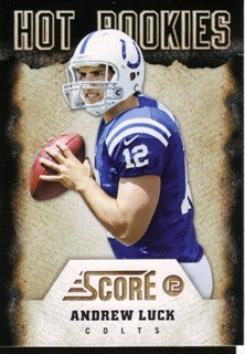 2012 Score Hot Rookies #1 Andrew Luck