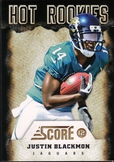 2012 Score Hot Rookies #4 Justin Blackmon