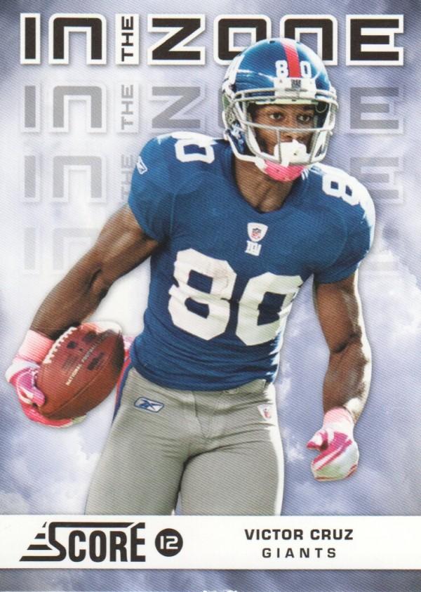 2012 Score In the Zone #24 Victor Cruz