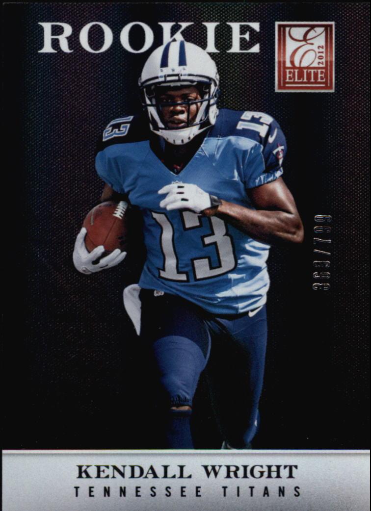 2012 Elite #119 Kendall Wright/799 RC