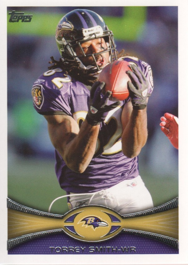 2012 Topps #187 Torrey Smith