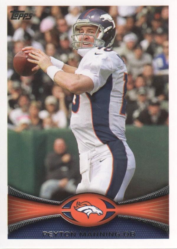 2012 Topps #350 Peyton Manning