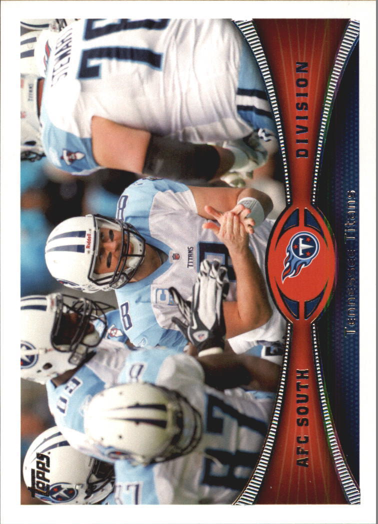 2012 Topps #412 Tennessee Titans/Jake Locker