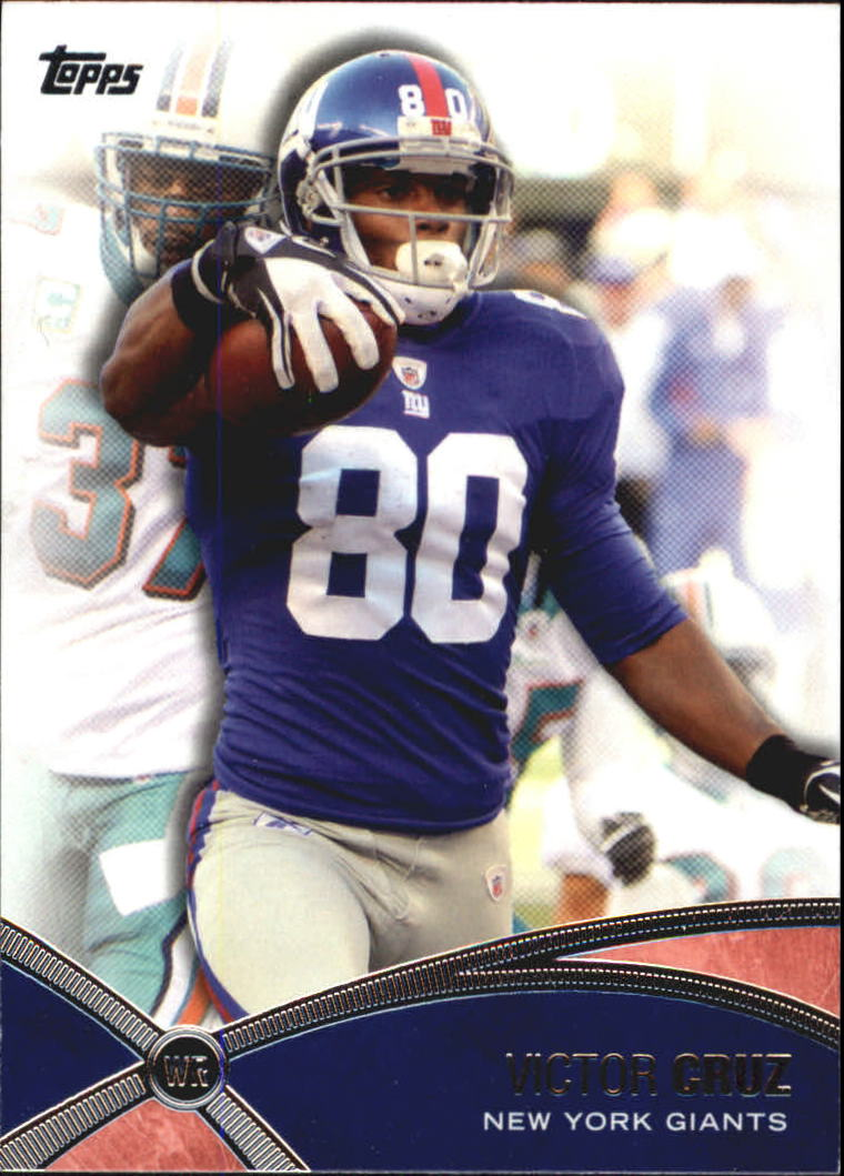 2012 Topps Prolific Playmakers #PPVC Victor Cruz