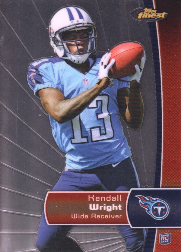2012 Finest #118 Kendall Wright RC