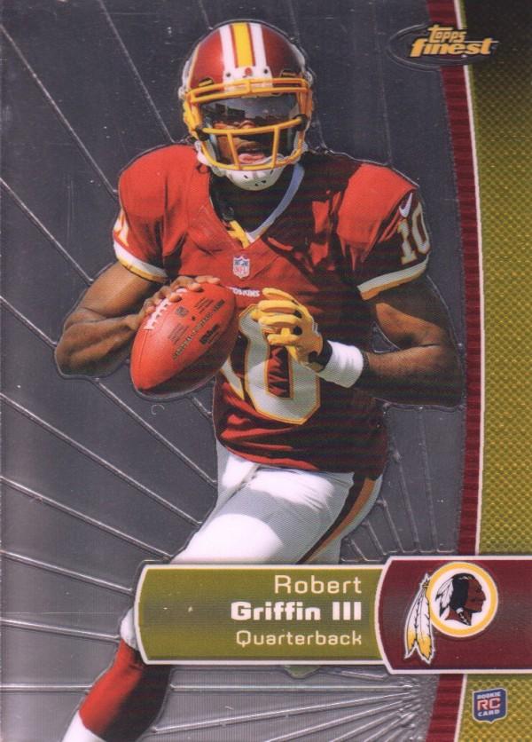 2012 Finest #120 Robert Griffin III RC