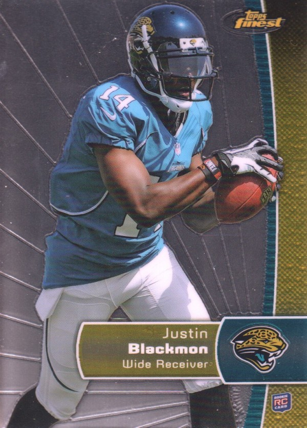 2012 Finest #130 Justin Blackmon RC