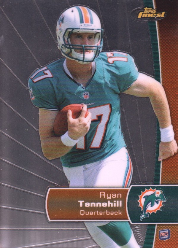 2012 Finest #135 Ryan Tannehill RC