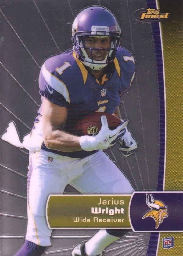 2012 Finest #138 Jarius Wright RC