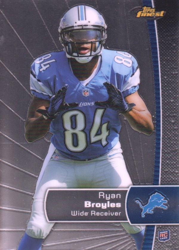 2012 Finest #144 Ryan Broyles RC