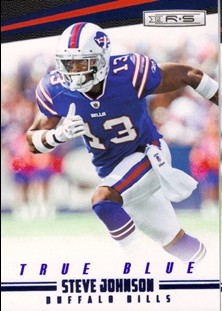 2012 Rookies and Stars True Blue #18 Steve Johnson