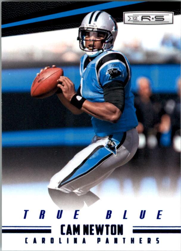 2012 Rookies and Stars True Blue #20 Cam Newton