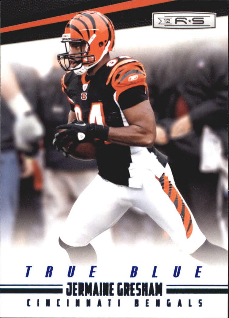 2012 Rookies and Stars True Blue #32 Jermaine Gresham