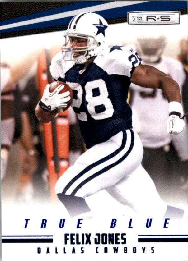 2012 Rookies and Stars True Blue #38 Felix Jones
