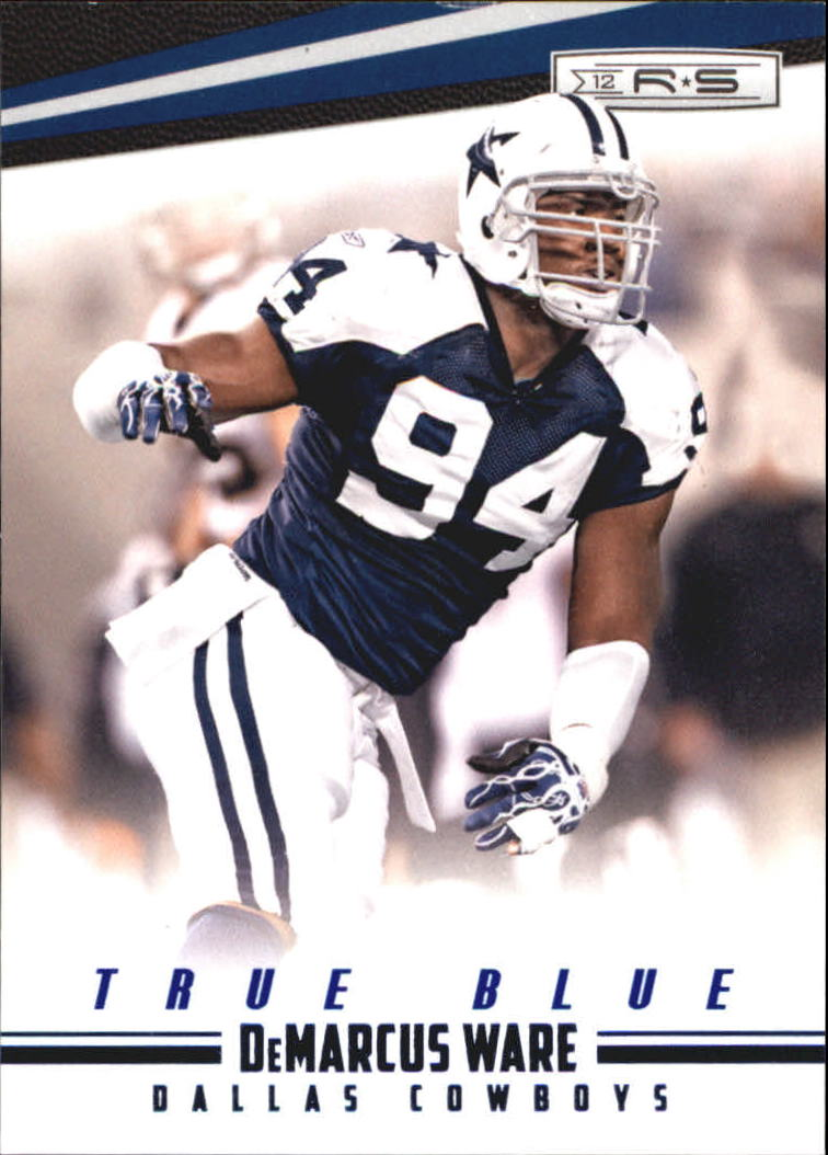 2012 Rookies and Stars True Blue #41 DeMarcus Ware