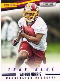 2012 Rookies and Stars True Blue #151 Alfred Morris