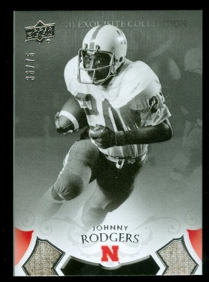 2011 Exquisite Collection #48 Johnny Rodgers