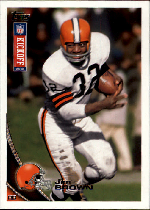 2012 Topps Kickoff #25 Jim Brown