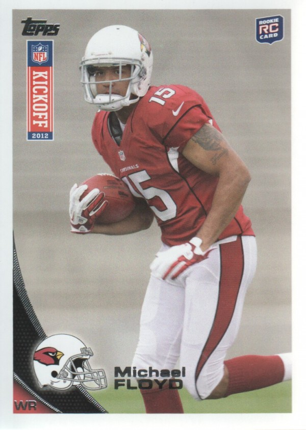 2012 Topps Kickoff #34 Michael Floyd