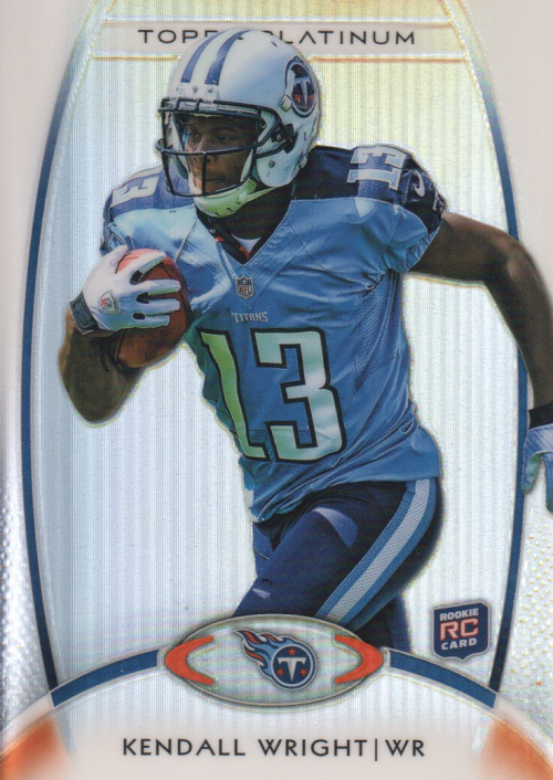 2012 Topps Platinum #118 Kendall Wright RC