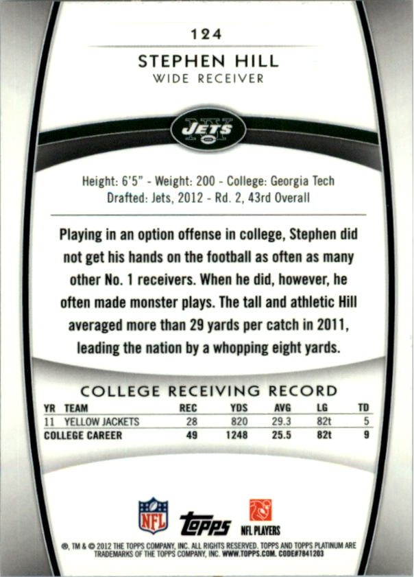2012-Topps-Platinum-Football-1-149-Your-Choice-GOTBASEBALLCARDS thumbnail 229