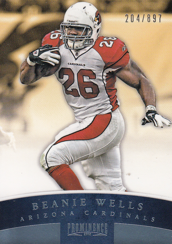 2012 Panini Prominence #2A Beanie Wells P