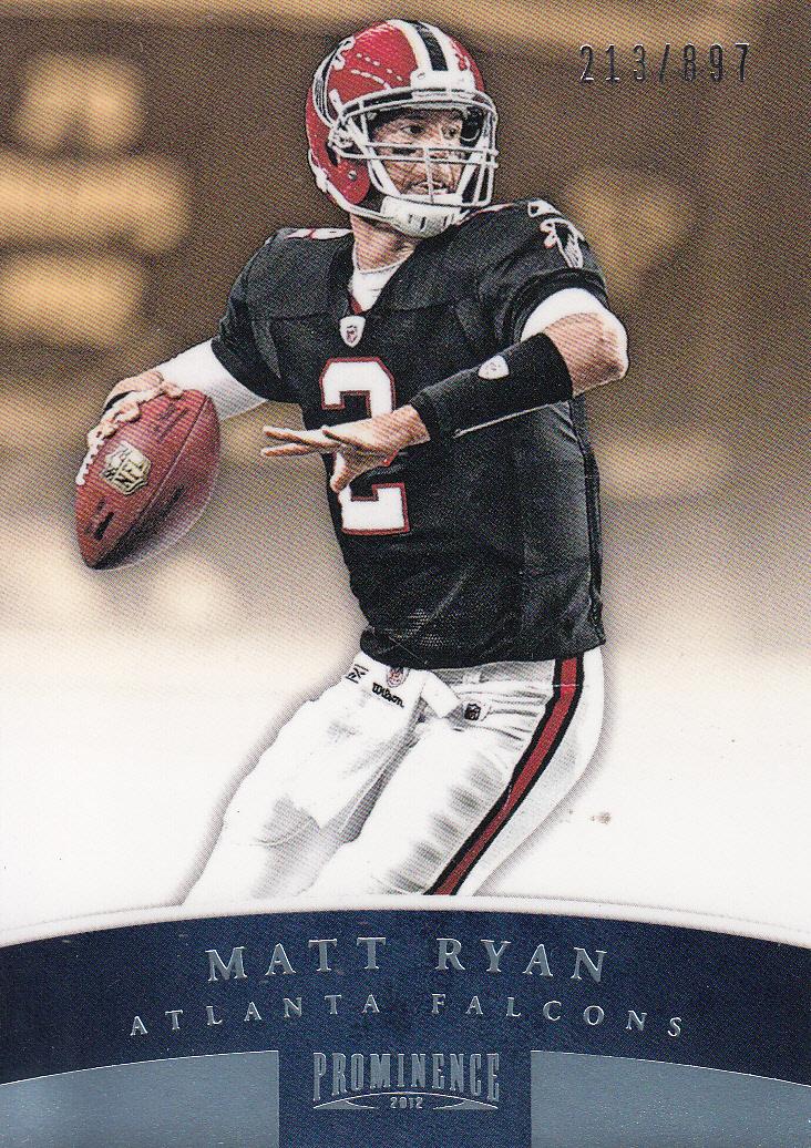 2012 Panini Prominence #4A Matt Ryan P