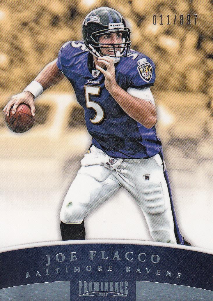 2012 Panini Prominence #7A Joe Flacco P