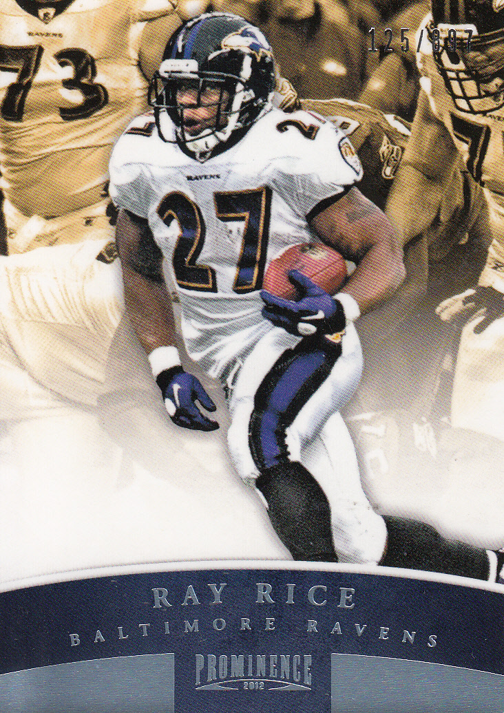 2012 Panini Prominence #8A Ray Rice P