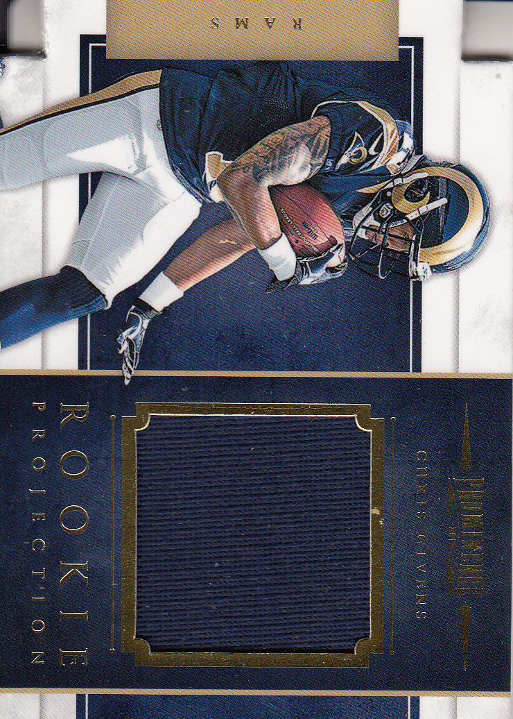 2012 Panini Prominence Rookie Projection Materials #7 Chris Givens